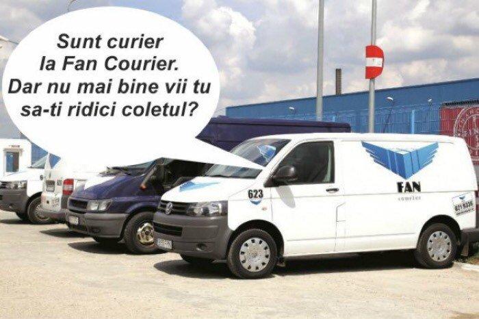Fan Courier-ul și KM suplimentari