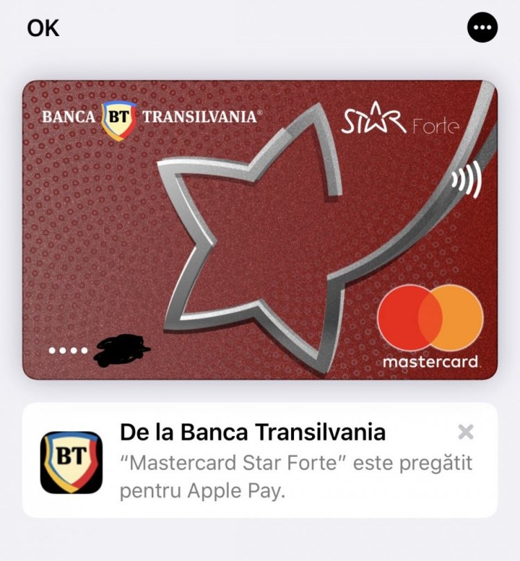 Apple Pay a ajuns și în România