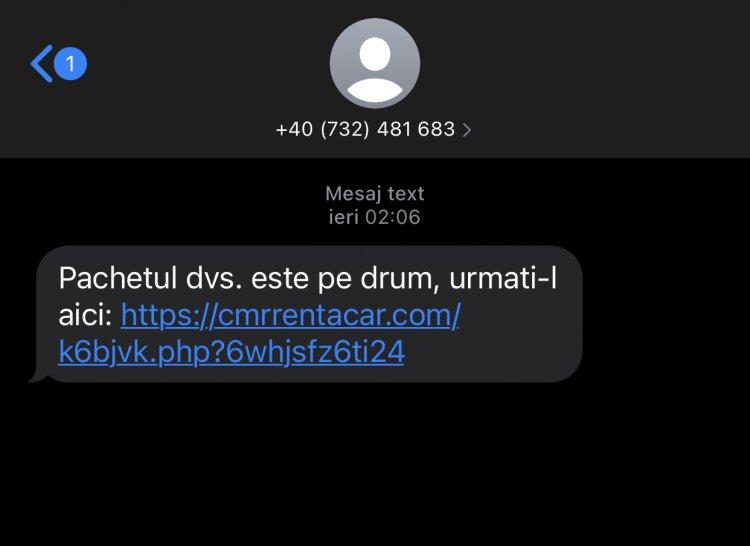 Atenție la linkurile primite prin SMS