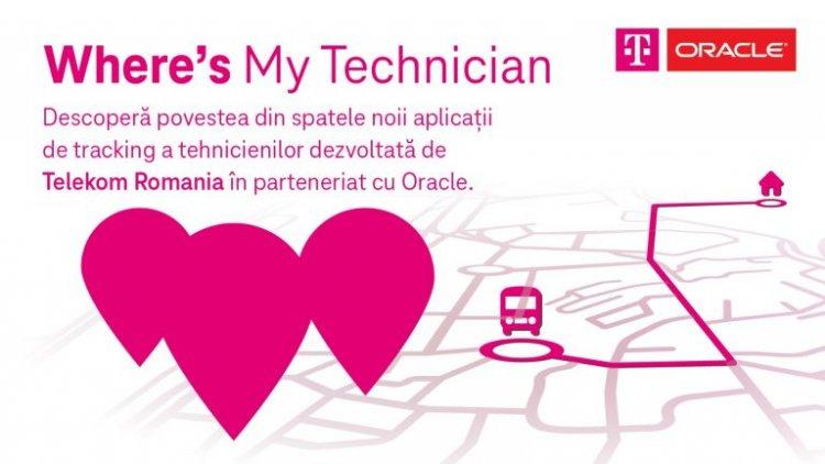Where's My Technician. Aplicația care îți arată când ajunge tehnicianul la tine